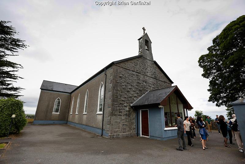 Saint Patrick's Church in Granlahan, County Roscommon, Ireland on Tuesday, June 25th 2013. (Photo by Brian Garfinkel)