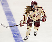 Meagan Mangene (BC - 24) - The Boston College Eagles defeated the visiting University of Maine Black Bears 5 to 1 on Sunday, October 6, 2013, in their Hockey East season opener at Kelley Rink in Conte Forum in Chestnut Hill, Massachusetts.