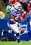 30 November 2008: Buffalo Bills' running back Fred Jackson gains yardage in the first quarter against the San Francisco 49ers at Ralph Wilson Stadium in Orchard Park, NY. The 49ers defeated the Bills 10-3. ***** Editorial Use Only ******..Mandatory Photo Credit: Ed Wolfstein Photo