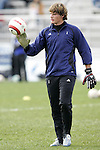 5 November 2006: Duke goalkeeper Justin Papadakis. Duke defeated Wake Forest 1-0 in overtime at the Maryland Soccerplex in Germantown, Maryland in the Atlantic Coast Conference college soccer tournament final.