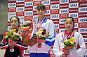 (L to R) Natsumi Sasada (JPN), Rie Tanaka (JPN), Yumi Iizuka (JPN),.APRIL 8, 2012 - Artistic gymnastics : The 66nd All Japan Gymnastics Championship Individual All-Around , Women's Individual 2nd day at 1nd Yoyogi Gymnasium, Tokyo, Japan. (Photo by Jun Tsukida/AFLO SPORT) [0003].