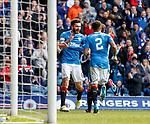Jon Toral celebrates his goal