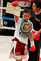 Takahiro Aoh (JPN), April 8, 2011 - Boxing :WBC super feather weight title bout at Kobe World hall, Hyogo, Japan. Takahiro Aoh won by KO after the fight was stopped in the forth round. (Photo by Yusuke Nakanishi/AFLO) [1090].