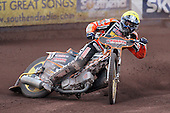 Heat 7: Freddie Lindgren of Wolves - Lakeside Hammers vs Wolverhampton Wolves - Elite League Speedway at Arena Essex Raceway - 16/05/11 - MANDATORY CREDIT: Gavin Ellis/TGSPHOTO - Self billing applies where appropriate - Tel: 0845 094 6026