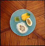 The Honua Spa at the Hotel Hana Maui in Hawaii features treatments using natural, local Hawaiian ingredients such as sea salt, lilikoi (passionfruit), noni, and coconut oil.