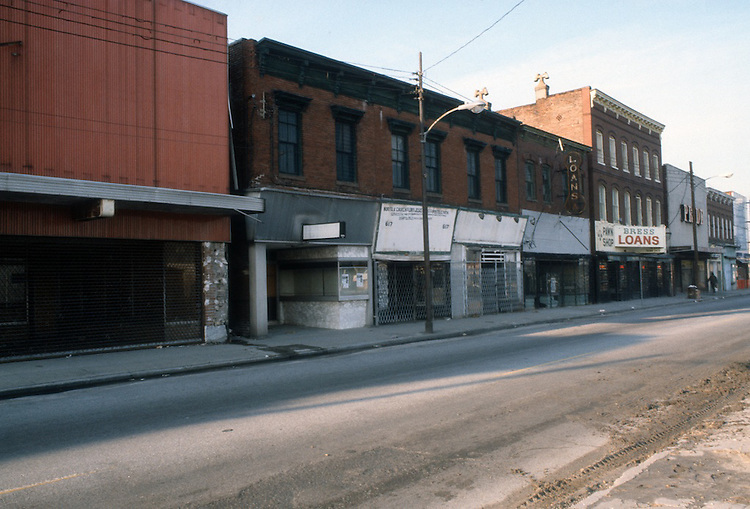 1982 January ..Redevelopment.Church Street..600 BLOCK CHURCH STREET...NEG#.NRHA#..