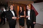 CIPR Cymru 2012.Phil Evans, Hayley Lancaster & Steve Pugh..Cardiff Hilton.19.10.12.©Steve Pope