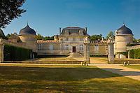 Chateau de Malle, Preignac, in Sauternes region of France.