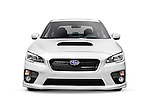 Silver 2015 Subaru Impreza WRX compact car isolated on white background with clipping path