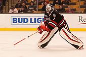 Ryan Ruck (NU - 41) - The Harvard University Crimson defeated the Northeastern University Huskies 4-3 in the opening game of the 2017 Beanpot on Monday, February 6, 2017, at TD Garden in Boston, Massachusetts.
