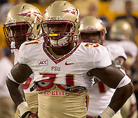 Florida State defensive back Terrence Brooks. Florida State defeated Pitt 41-13 at Heinz Field on September 2, 2013.