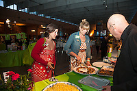 FoodShare's Meredith Hayes, Brooke Ziebell and Alvin Rebick at FoodShare Toronto's Recipe for Change, February 28,  2013