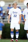 09 September 2011: Duke's Ryan Brown. The University of Virginia Cavaliers defeated the Duke University Blue Devils 1-0 at Koskinen Stadium in Durham, North Carolina in an NCAA Division I Men's Soccer game.