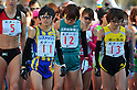 (L to R) Mizuki Noguchi (JPN), Yoshimi Ozaki (JPN), .MARCH 11, 2011 - Marathon : Nagoya Women's Marathon 2012 Start &amp; Goal at Nagoya Dome, Aichi, Japan. (Photo by Jun Tsukida/AFLO SPORT)[0003].