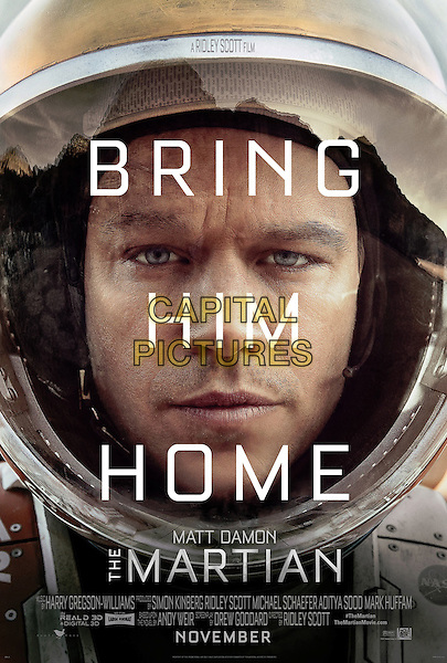 POSTER ART<br /> in The Martian (2015) <br /> *Filmstill - Editorial Use Only*<br /> CAP/FB<br /> Image supplied by Capital Pictures