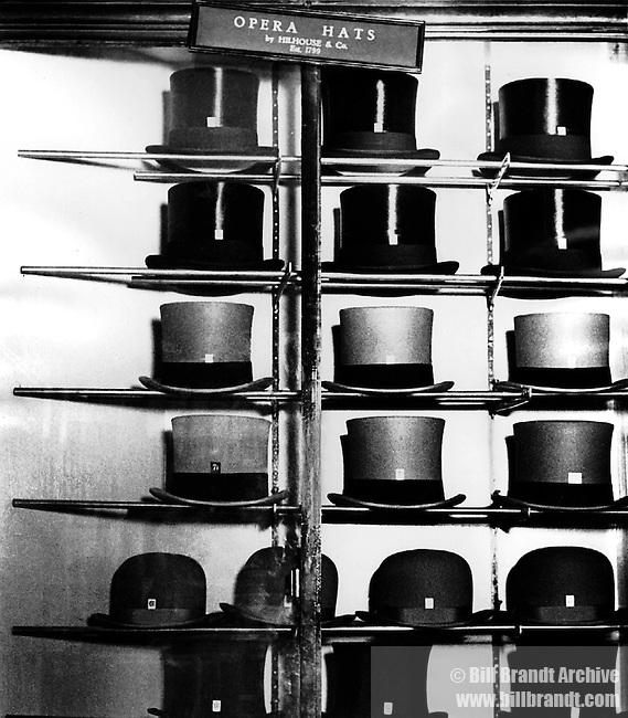 Hatter's window Bond Street, 1931-5