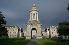 August 31, 2012; Main quad at Trinity College in Dublin, Ireland. Photo by Barbara Johnston/University of Notre Dame