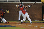 Mississippi's Kevin Mort (6) drives in Mississippi's Zach Miller (1) on a fielder's choice vs. St. John's during an NCAA Regional at Davenport Field in Charlottesville, Va. on Friday, June 4, 2010.