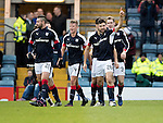 Dundee v St Johnstone&hellip;.31.12.16     Dens Park    SPFL<br />Kostadin Gadzhalov celebrates his goal<br />Picture by Graeme Hart.<br />Copyright Perthshire Picture Agency<br />Tel: 01738 623350  Mobile: 07990 594431