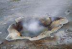 Geothermal activity powers the volcanic island of Iceland