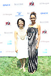 Shanon Hales and Maria Boafos Attend The Fourth Annual Reginald F. Lewis Foundation Gala Luncheon Held at The Reginald F. Lewis Estate, East Hampton New York, 6/25/11