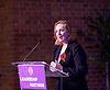 UKIP <br /> Leadership hustings <br /> at the Emanuel Centre, London, Great Britain <br /> 1st November 2016 <br /> <br /> the first leadership hustings before the election on 28th November 2016 <br /> <br /> Suzanne Evans <br /> <br /> <br /> <br /> Photograph by Elliott Franks <br /> Image licensed to Elliott Franks Photography Services