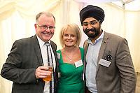 Kevin & Carol Brennan of Brennans Pharmacy with Karambir Landa of PKF Cooper Parry