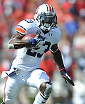 Auburn running back Onterio McCalebb (23) runs vs. Mississippi at Vaught-Hemingway Stadium in Oxford, Miss. on Saturday, October 13, 2012. (AP Photo/Oxford Eagle, Bruce Newman)..