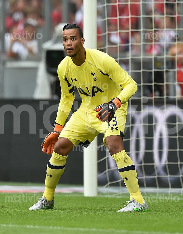 Fussball International Audi Cup 2015 Saison 2015/2016  Halbfinale  Real Madrid - Tottenham Hotspur       04.08.2015 Torwart Michel Vorm (Tottenham Hotspur)