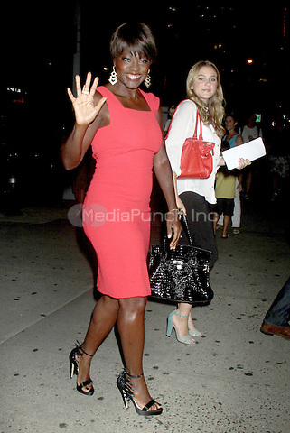 NEW YORK, NY - August 03, 2012: Viola Davis attends the screening of Won't Back Down at the NYIT Auditorium in New York City. © RW/MediaPunch Inc.