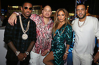 LAS VEGAS, NEVADA - JULY 24, 2016 Fabolous, Fat Joe JLO & French Montana attend the JLO private birthday celebration at The Nobu Villa Suite at Caesars Palace, July 24, 2016 in Las Vegas Nevada. Photo Credit: Walik Goshorn / Mediapunch