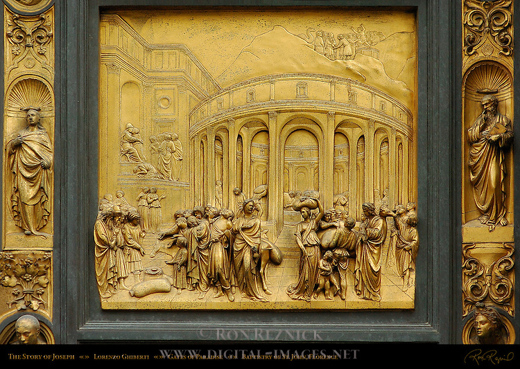 Story of Joseph Gates of Paradise Ghiberti Baptistry of San Giovanni Florence