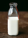 File photo of Japanese milk. The Japanese government has halted the sale and distribution of milk products, as well as certain vegetables, from Fukushima, Ibaragi, Miyagi and other prefectures directly affected by radiation leaked from the Fukushima Daiichi nuclear power plant in the aftermath of the 2011 Tohoku-Kanto Natural Disaster. (Photo by AFLO)