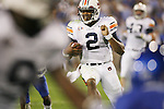 Auburn quarterback Cam Newton smiles as he runs into the endzone against UK at Commonwealth Stadium on Saturday, Oct. 9, 2010. Photo by Scott Hannigan | Staff