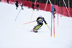 FRANCONIA, NH - MARCH 10:  William St. Germain of UVM  competes during the Men's Slalom event at the Division I Men's and Women's Skiing Championships held at Cannon Mountain on March 10, 2017 in Franconia, New Hampshire. (Photo by Gil Talbot/NCAA Photos via Getty Images)