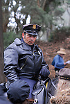 San Francisco Police on horseback in Golden Gate Park