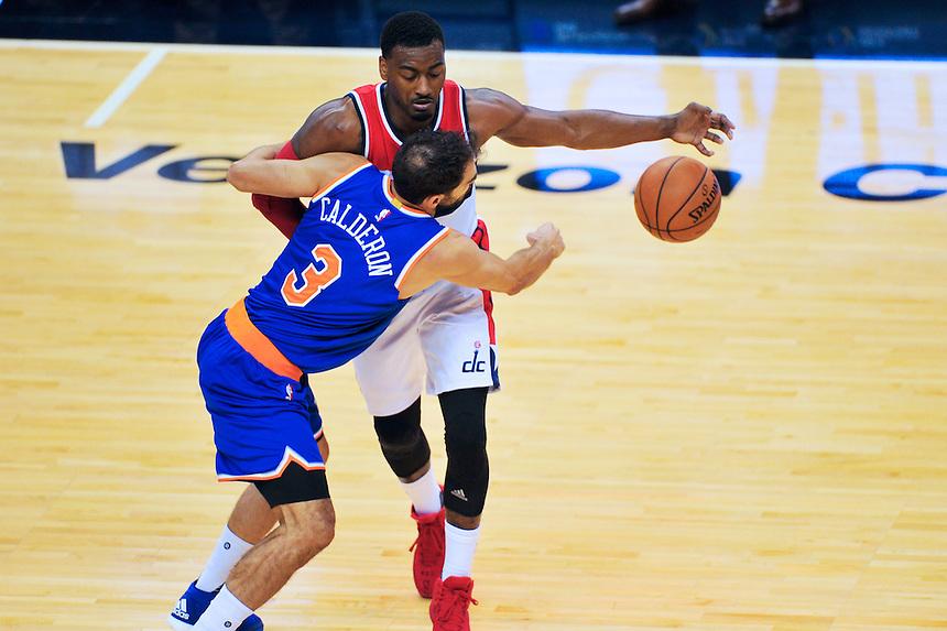 NBA Pre Season - Washington Wizards vs. New York Knicks, October 9, 2015