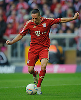 Fussball Bundesliga Saison 2011/2012 9. Spieltag FC Bayern Muenchen - Hertha BSC Berlin Franck RIBERY (FCB).