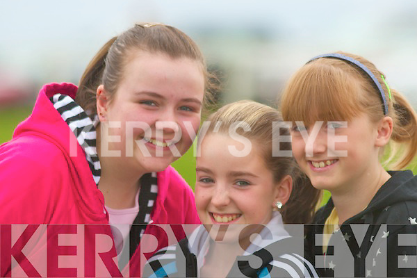 All smiles at the point-toPoint Races in Ballybunion on Sunday were Katrina Brosnahan, Listowel, Katie O'Keeffe, Tarbert and Clodagh Walshe, Listowel. .   Copyright Kerry's Eye 2008