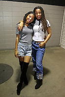 NEW ORLEANS, LA - JULY 3, 2016 Chloe & Halle Bailey backstage at Essence Festival at Mercedes Benz Superdome, July 3, 2016 in New Orleans, Louisiana. Photo Credit: Walik Goshorn / Media Punch