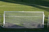 Soccer goal.