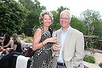 ISPS Handa Wales Open 2012.Terry M's Restaurant Opening.Marianne & Kim Waters.01.06.12.©Steve Pope