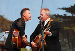 Lyle Lovett with John Prine at Hardly Strictly Bluegrass