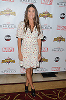 LOS ANGELES, CA - SEPTEMBER 19: Natalia Cordova-Buckley at the premiere of ABC's 'Agents of Shield' Season 4 at Pacific Theatre at The Grove on September 19, 2016 in Los Angeles, California.  Credit: David Edwards/MediaPunch