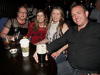 04/06/14<br /> (No Fee pixs) Rhona Curran,Geargina Kearney,Celine Curran and Sean Boland at the Stella Bass Album Launch &ldquo;TOO DARN HOT&rdquo; which took place in the Sugar Club Co Dublin this evening&hellip;<br /> Pic Collins  Photos