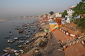 An overview of the ancient city of Varanasi in Uttar Pradesh, India. Photograph: Sanjit Das/Panos