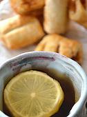 Stock Photo tea and Pastries