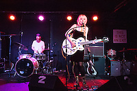 Jessica Lea Mayfield performs at The Mercury Lounge in New York City on April 28, 2014.
