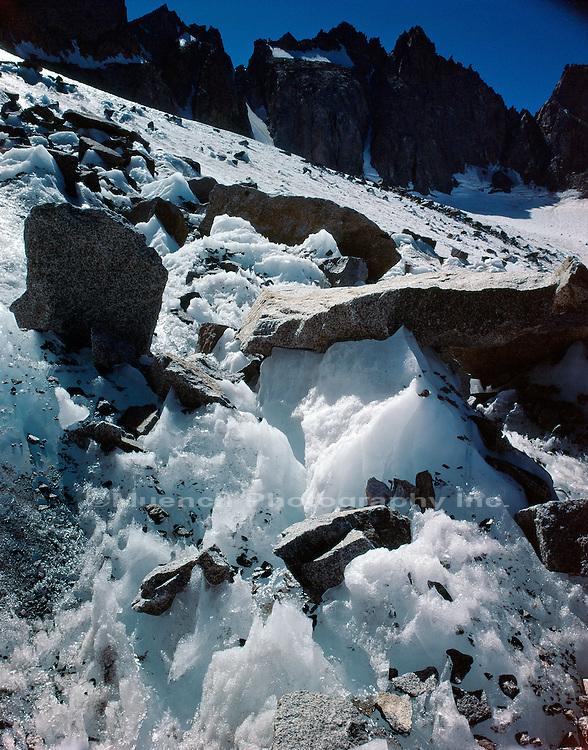 Mount Sill,   Palisade Glacier, Big Pine Canyon, Sierra Nevada Mountains