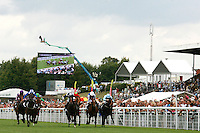 Horse Racing - Glorious Goodwood - Markel International Maiden Fillies' Stakes..Mortittia, Ridden by Paul Hanagan won the fifth race of the day, the Markel International Maiden Fillies' Stakes at Glorious Goodwood..........